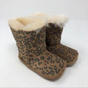 UGG Baby Cassie Leopard Cheetah Print Boots